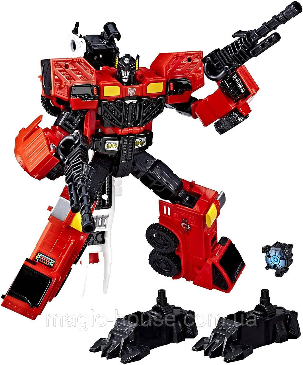 Трансформер Инферно  Пожарная машина Оригинал Transformers Voyager Inferno