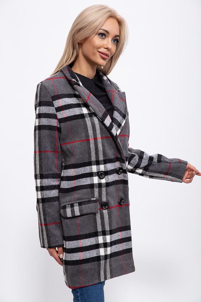 Пальто женское 153R624 цвет Серый