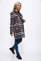 Пальто женское 153R624 цвет Серый, фото 3