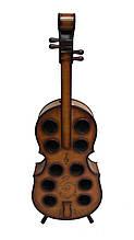 Винна стійка Гранд Презент Скрипка Коричневий (JJ0004)