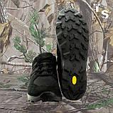 Кроссовки тактические MUSTANG нубук cordura черные, фото 6