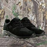 Кроссовки тактические MUSTANG нубук cordura черные, фото 7