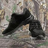 Кроссовки тактические MUSTANG нубук cordura черные, фото 4