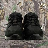 Кроссовки тактические MUSTANG нубук cordura черные, фото 2