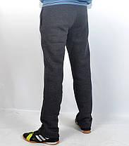 Штаны спортивные тёплые байковые Adidas, фото 3