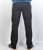 Штаны спортивные тёплые байковые Adidas, фото 2
