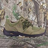 Кроссовки тактические MUSTANG нубук cordura олива, фото 2