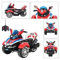Детский мотоцикл М 2222 R-3 красный