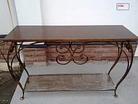Кованые столы для дома