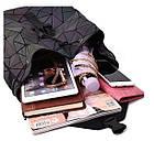 Женский рюкзак хамелеон Бао Бао ночной алмаз , городской рюкзак сумка Bao Bao, фото 6