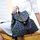 Женский рюкзак хамелеон Бао Бао ночной алмаз , городской рюкзак сумка Bao Bao, фото 2