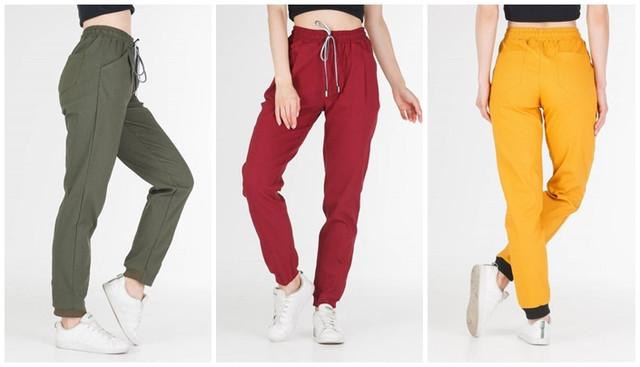 женские брюки карго