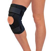 Разъемный ортез на коленный сустав с шарнирами