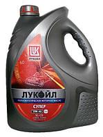 Моторное масло полусинтетика Lukoil (Лукойл) супер 10w40 5л