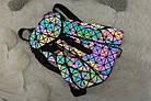 Женский рюкзак хамелеон Бао Бао ночной алмаз , городской рюкзак сумка Bao Bao, фото 3