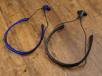 Стереонаушники для спорта Stn-730 наушники-вкладыши Level U Голубые, спортивная Bluetooth гарнитура Реплика