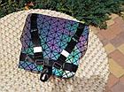 Женский рюкзак хамелеон Бао Бао ночной алмаз , городской рюкзак сумка Bao Bao, фото 10