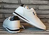Кроссовки женские Wei Wei. Белые кожаные кеды. Слипоны. Кросы в стиле Adidas., фото 2