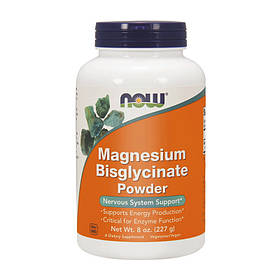 Магній бисглицинат Now Foods Magnesium Bisglycinate Powder (227 г) нау фудс pure