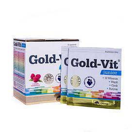 Вітаміни для дітей Olimp Gold-Vit junior (15 пачок, малина) олімп