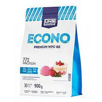 Сывороточный протеин концентрат UNS Econo Premium (900 г) юнс Chocolate Nut Ice Cream