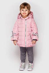 Детская куртка демисезонная для девочки  Эмили Лаванда, на рост 80