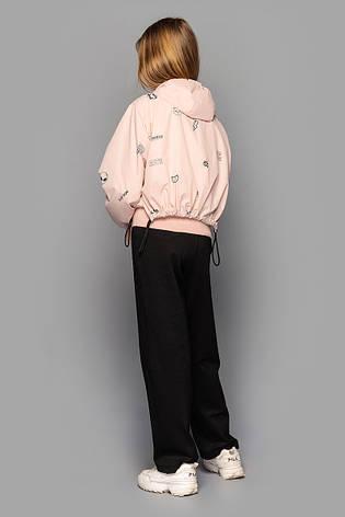 Детская ветровка для девочки  Джессика  Св Пудра, на рост 140-158, фото 2