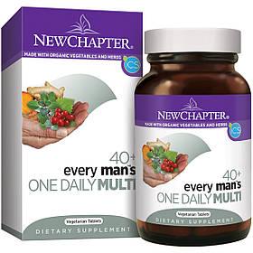 Щоденні Мультивітаміни для Чоловіків 40+, Every man's, New Chapter, 48 таблеток
