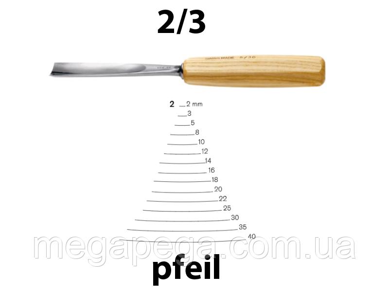 pfeil 2/3