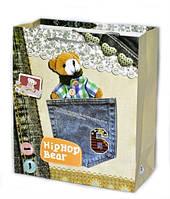 Подарочные пакеты детские Мишки 21х18х9 см, фото 1