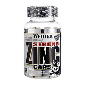 Цинк Weider Strong Zinc Caps 25 mg (120 caps) вейдер