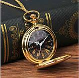 Винтажные часы карманные с цепочкой, фото 3