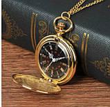 Винтажные часы карманные с цепочкой, фото 2