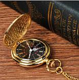 Винтажные часы карманные с цепочкой, фото 4