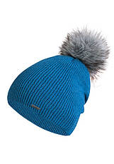 Красивая шапка с меховым помпоном от Kamea - Jesse., фото 2