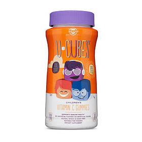 Вітамін C для дітей Solgar U-Cubes children's Vitamin C (90 жувачек) солгар