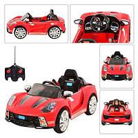 Детский электромобиль PORSHE M 1603 R-3 красный
