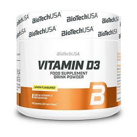 Витамин д3 BioTech Vitamin D3 (150 г) биотеч лимон