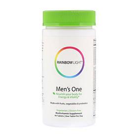 Витамины для мужчин Rainbow Light Men's One (90 таб) рейнбоу лайт