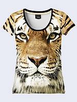 Футболка 3D жіноча Шикарний тигр