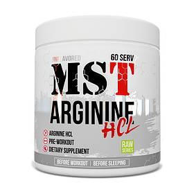 Л-Аргінін МСТ MST Arginine HCL (300 г) мст без добавок