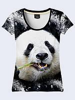 Футболка 3D жіноча Велика панда