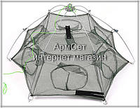 Раколовка зонтик 6 входов 80 см, фото 1