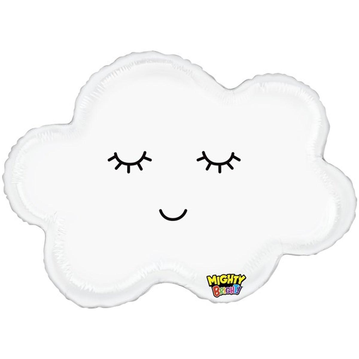 Фольгированный шар 30' Grabo Спящее облачко, 76 см
