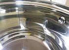Набор кастрюль SwissHaus 6 шт (12 предметов) с многослойным дном из нержавеющей стали, набор кухонной посуды, фото 7