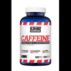 Кофеїн UNS Caffeine 200 mg (100 кап) юнс