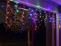 Гирлянда светодиодная LTL Sople занавес 200 led длина 6.4 метра  разноцветная RGB + переходник