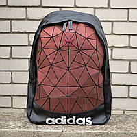 Рефлективный спортивный городской рюкзак Adidas Адидас Рюкзак Adidas Reflective Big Triangle