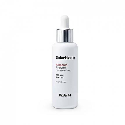 Сыворотка с функцией защиты кожи от УФ-лучей Dr. Jart Solarbiome Ampoule SPF50+ PA++++, 50 мл, фото 2