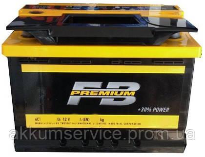 Аккумулятор автомобильный FireBall Premium Ca/Ca 65AH L+ 640A
